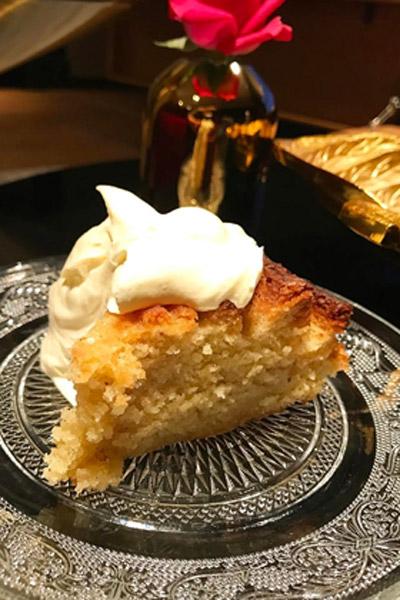 Spiced Syrup Cake
