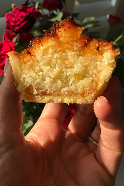Coconut tartlets